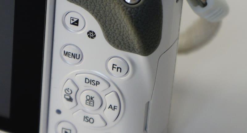 一眼カメラのファンクションボタン