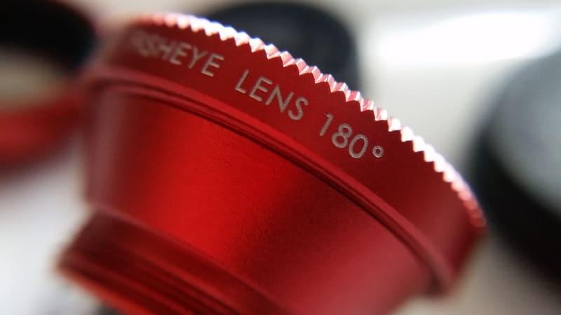 180°撮れる魚眼レンズ