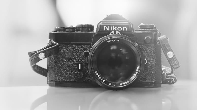 Nikonのフィルムカメラ