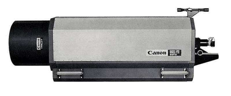 Canon 5200mm F14 Mirror Lens