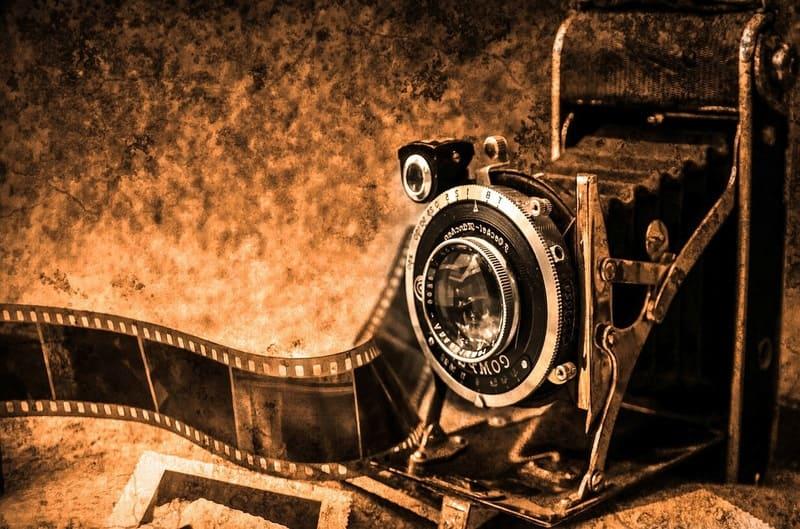 古いレンズの写真