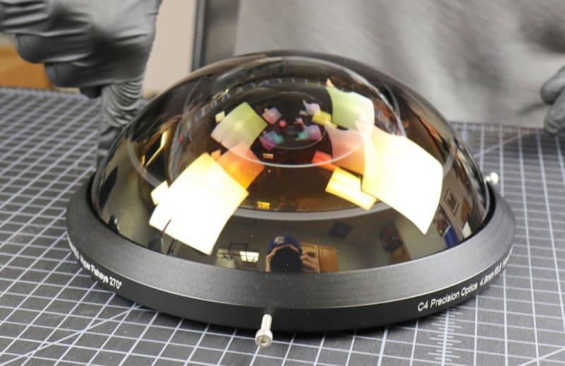 C-4 Optics 4.9mm f/3.5 Hyperfisheye Prototype