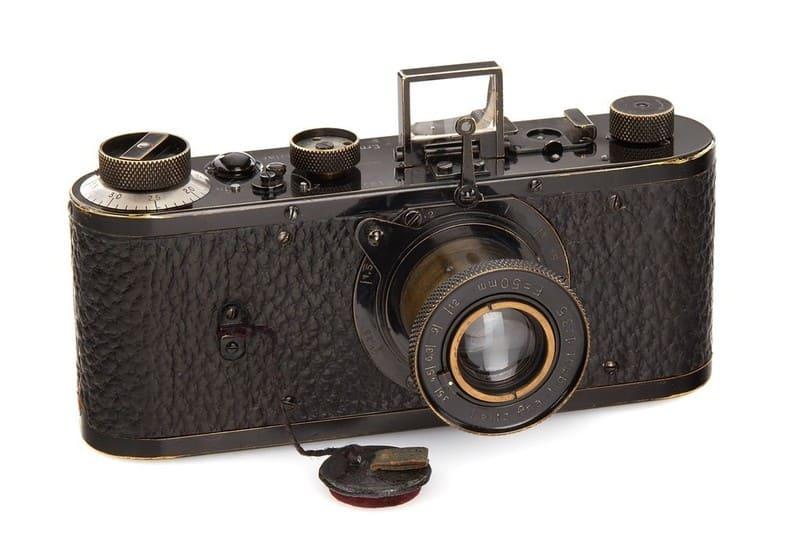 1923年製の0型ライカ(ヌル・ライカ)