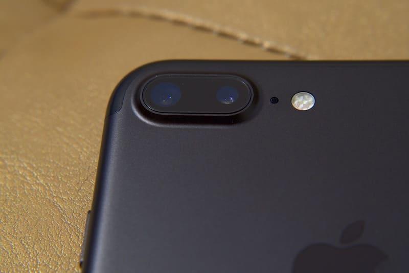 デュアルレンズを採用したiPhone