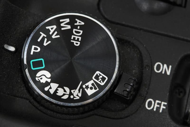 カメラの設定ダイヤル