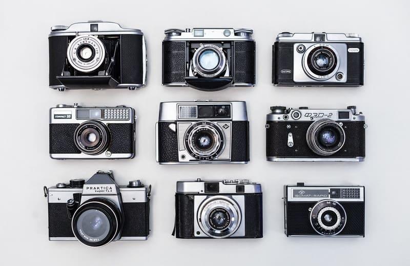 様々なデジタルカメラ9種